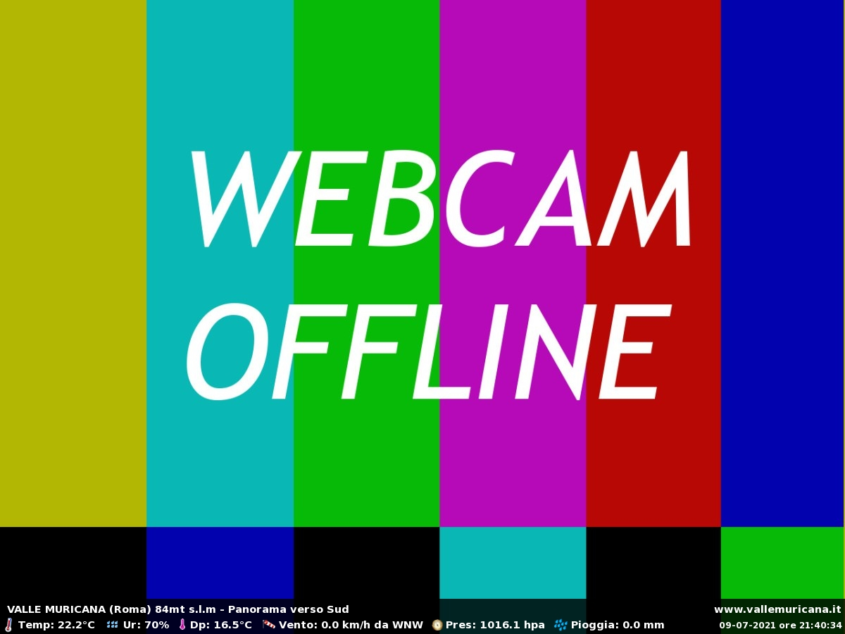 Webcam Valle Muricana